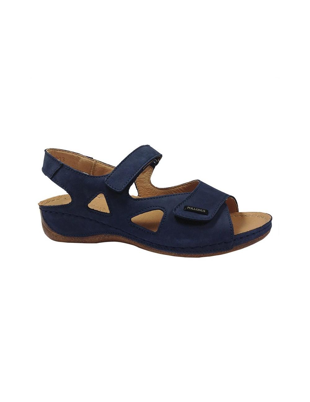 578657a66e17e Rewelacyjne pod względem wygody i jakości wykonania sandałki firmy Pollonus.  Praktyczne paski z rzepami pozwalają na idealne dopasowanie do kształtu  stopy.