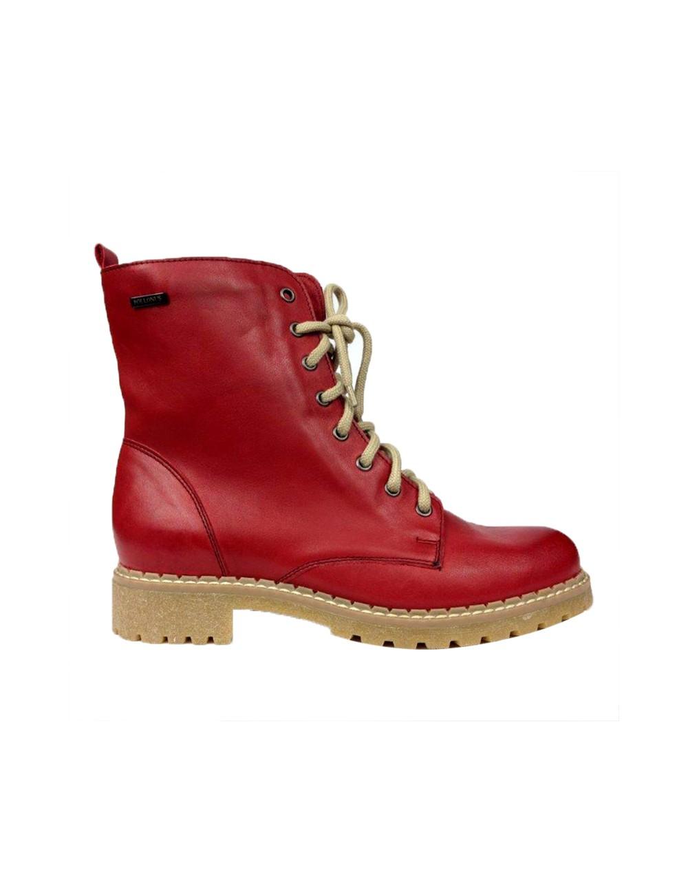 57c81b9295f07 Wierzch wykonany jest z doskonałej jakości skóry licowej.W środku ciepły  przyjemny w dotyku polarek. Podeszwa typowa dla butów z protektorem ...